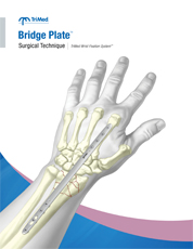 Bridge Plate surgical techniques manual cover