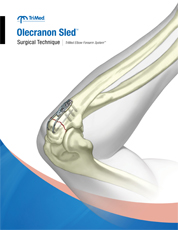 Olecranon Sled Revision B surgical techniques manual