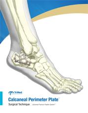 Calcaneal Perimeter Plate surgical technique manual cover