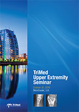 Cover of TriMed Upper Extremity Seminar handout