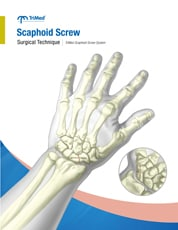 Sacphoid Screw System surgical techniques manual