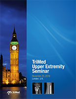 TriMed Upper Extremity seminar London cover page