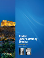 TriMed Upper Extremity seminar Greece cover page