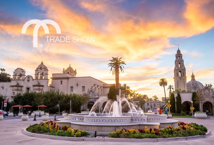 Fountain in San Diego, CA